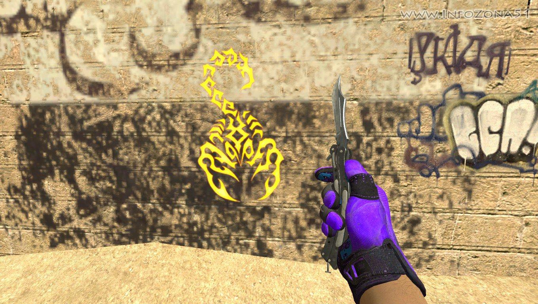 """skorpion """" Серверные модели оружия и игроков. Плагины для SOURCEMOD,ZOMBIERELOAD моды и карты для css v34"""