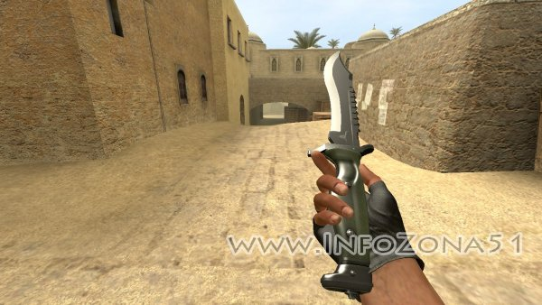 Оружие ★ Bowie knife CSGO для CSSource