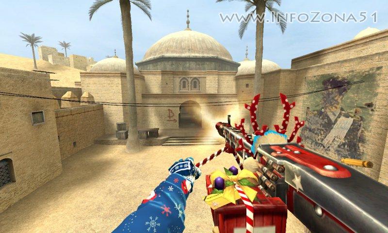 CSO новогодний пулемет