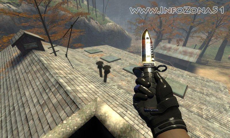 M9 Bayonet + Moto Gloves