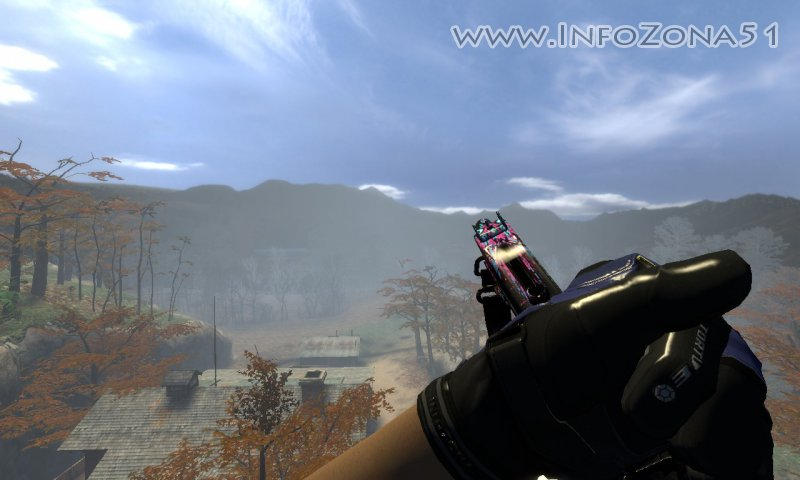 MAC-10 csgo in css + Moto Gloves