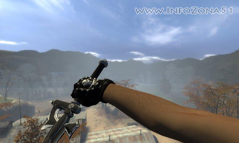 ELUCIDATOR вместо ножа (на правую руку) для CSSource
