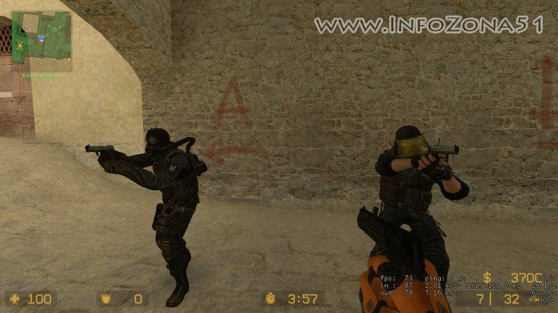 Модели игроков из CSO2