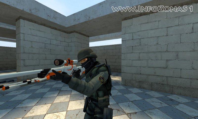 AWP CSGO in CSS AZIIMOV (все версии игры)