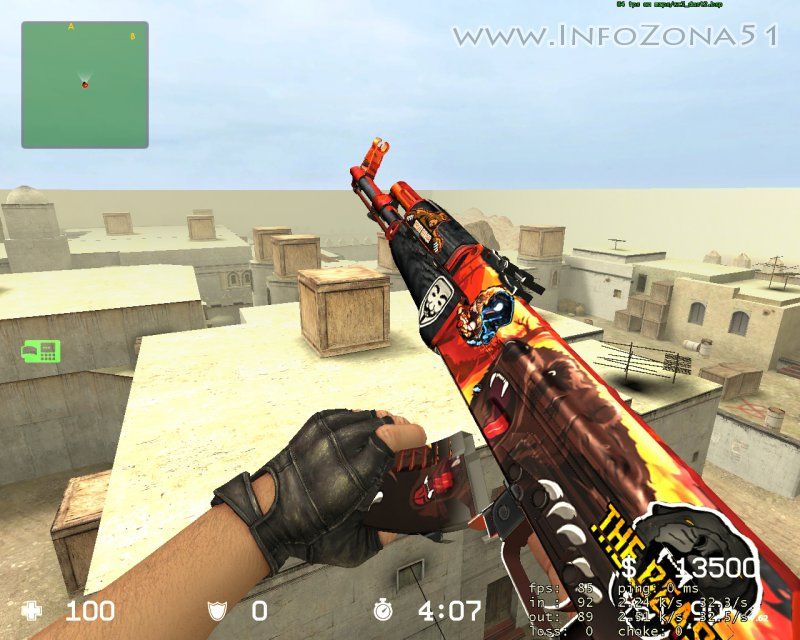 AK-47 Grizly+stickers