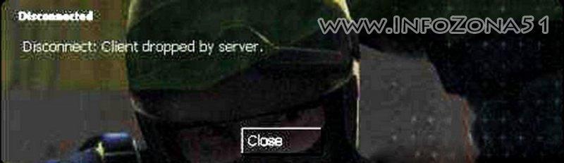 Решение проблемы Disconnect: Client dropped by server. css .v34