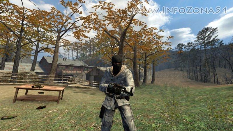 AK-47 Wasteland Rebel [Gloves,Light,Animation]