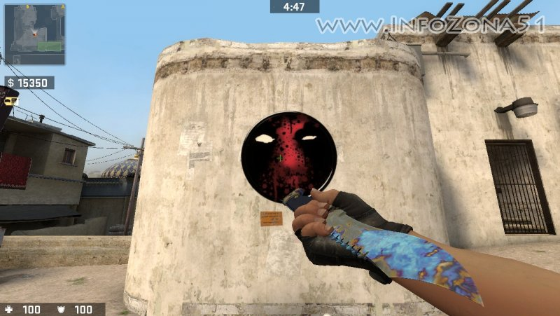 Pack skins bowie knife for css