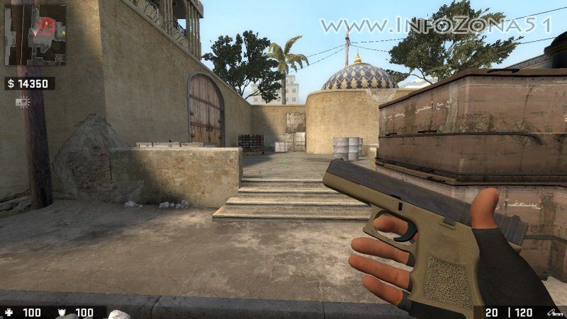 CSGO Mod (T Leet Hands Old) By Дэнмен.