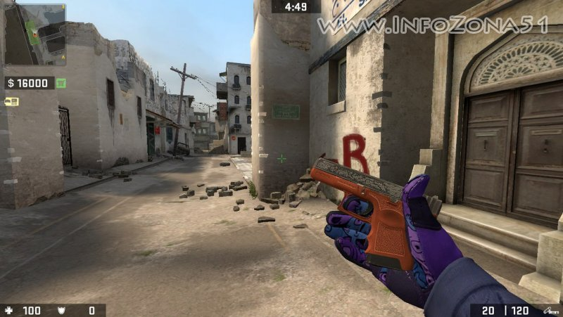 CSGO Mod (CT+Sporty Gloves) By Дэнмен.