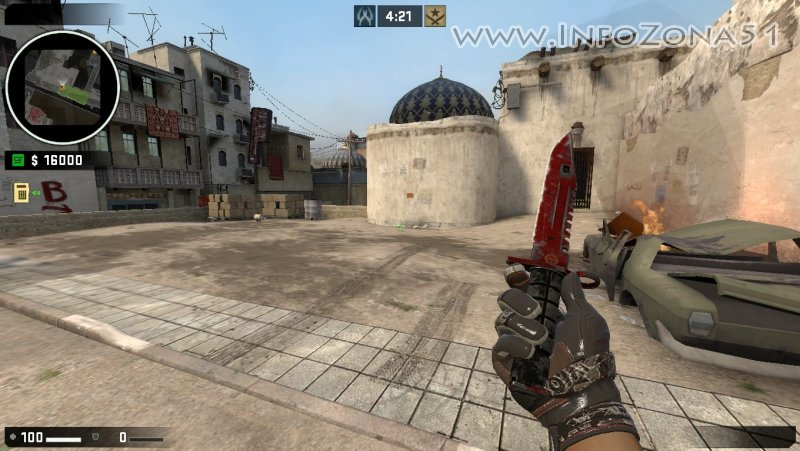 Private CSGO Mod (Moto Gloves BOOM!) By Дэнмен.
