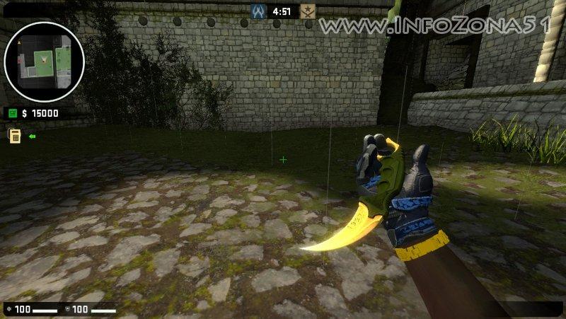 StatTrak Karambit (Pirates+Moto Gloves) By Дэнмен