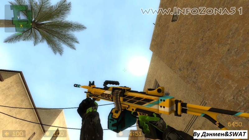 CSGO Mod (CT Hands) By SWAT