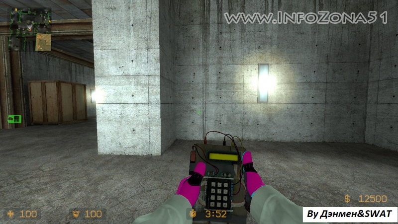 CSGO Mod (CT Hands+Sporty Gloves) By SWAT