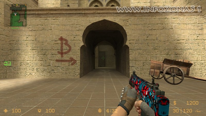 MP7 V34-V89 Graffiti (Bloodhound Gloves) By Дэнмен
