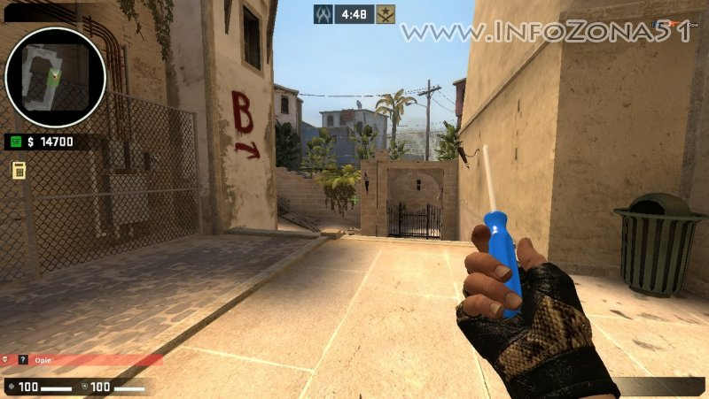 Glock CrossFire ( Bloodhound Gloves) By Дэнмен, Screwdriver Knife (Bloodhound Gloves) By Дэнмен