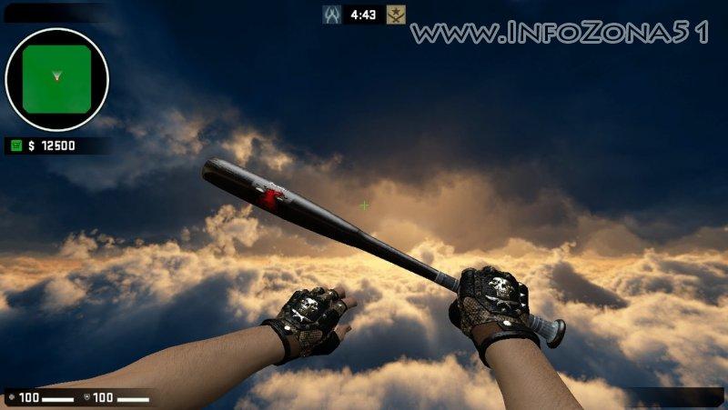 Baseball bat Danman (Bloodhound_Gloves) By Дэнмен