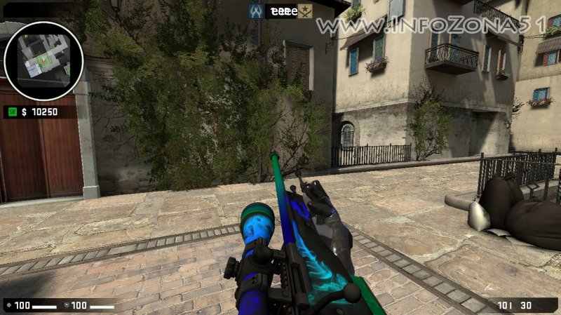 V34-V90 StatTrack AWP Smoke (Moto Gloves) By Danman