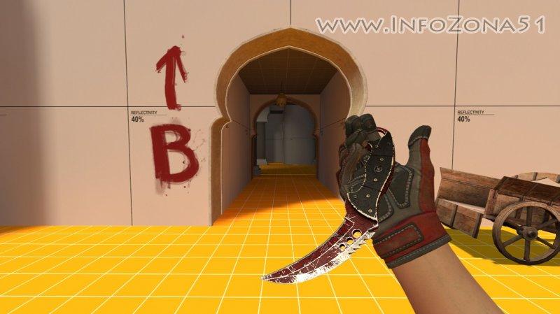 Talon Knife Crimson Web (Specialist Gloves) By Дэнмен V90