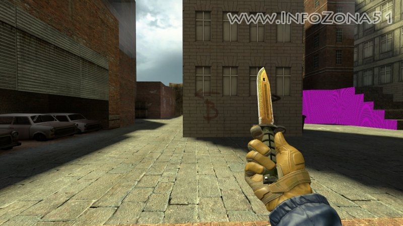 Bayonet Knife Lore (Moto Gloves Transport) By Дэнмен V90
