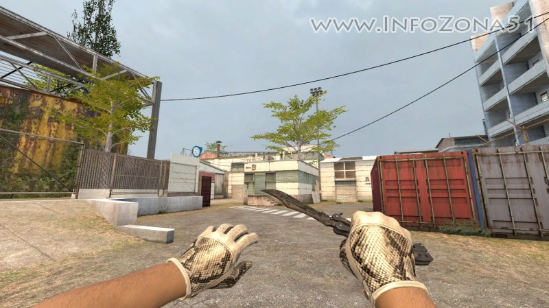 Butterfly Knife Stained (Driver Gloves) By Дэнмен V90