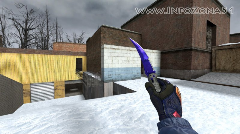 Flip Knife Sapphire (Specialist Gloves) By Дэнмен V90
