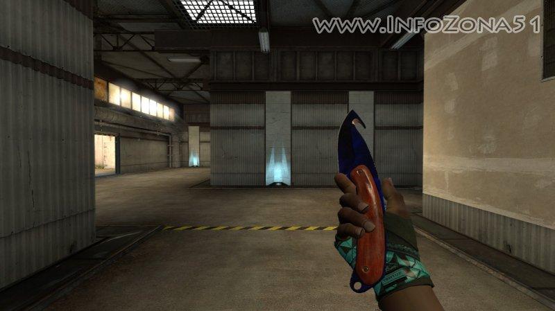 Gut Knife Doppler (Handwraps) By Дэнмен V90