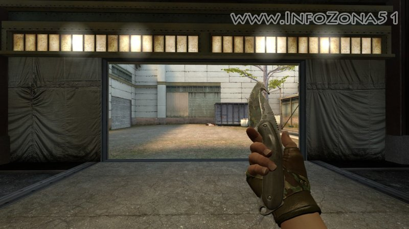Gut Knife Boreal Forest (Bloodhound) By Дэнмен V90