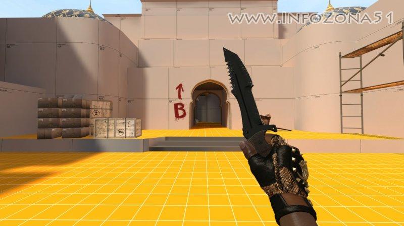 Huntsman Knife Night (Bloodhound) By Дэнмен V90