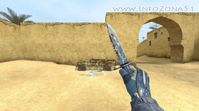 M9 Bayonet Brighit Water (Sport) By Дэнмен V90