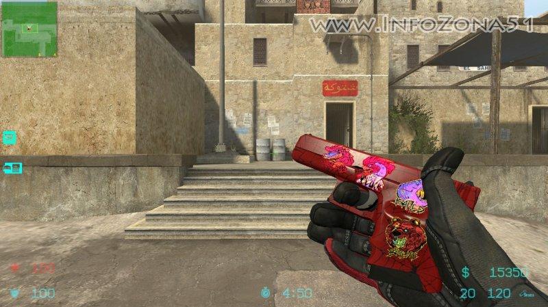 Glock-18 Crimson Web (Specialist) By Дельта